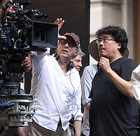 NEW YORK, NY-July 16: Bong Joon-Ho shooting on location for Netflix & Plan B Enterainment  film Okja in New York. NY July 16, 2016. Credit:RW/MediaPunch