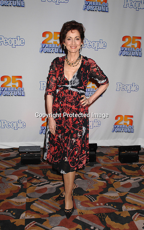 "Robin Strasser..at The 25th Anniversary party for ""Wheel of Fortune"" ..on September 27, 2007 at Radio City Music Hall, where they will tape 3  weeks of shows.....photo by Robin Platzer, Twin Images....212-935-0770"