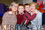 Nanny Helen McElligott getting a hug from Aaron McElligott and Conor McElligott giving a hug to nan Trisha Dempsey at the Grandparents Day in Moyderwell NS on Thursday.