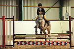 Class 8. Unaffiliated showjumping. Brook Farm Training Centre. Essex. UK. 03/12/2017. ~ MANDATORY Credit Ellen Szalai/Sportinpictures - NO UNAUTHORISED USE - 07837 394578