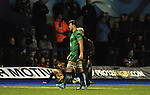 Connacht's Jake Heenan goes off injured<br /> Guiness Pro12<br /> Cardiff Blue v Connacht<br /> BT Sport Cardiff Arms Park<br /> 06.03.15<br /> &copy;Ian Cook -SPORTINGWALES