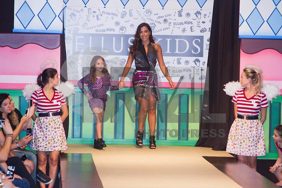 SÃO PAULO,SP,29.03.2015- FASHION WEEKEND KIDS -A cantora,Anitta durante o desfile da marca Ellus Kids.Shopping Cidade Jardim,região sul da cidade de São Paulo na tarde desse domingo,28.(FOTO:KEVIN DAVID/BRAZIL PHOTO PRESS).
