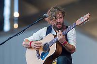 John Butler performs at the Festival d'ete de Quebec (Quebec Summer Festival) on July 15, 2018.