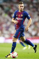 FC Barcelona's Gerard Deulofeu during Supercup of Spain 2nd match. August 16,2017.  *** Local Caption *** © pixathlon +++ tel. +49 - (040) - 22 63 02 60 - mail: info@pixathlon.de