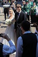 Mariage du Prince Ernst junior de Hanovre et de Ekaterina Malysheva &agrave; l'&eacute;glise Markkirche &agrave; Hanovre.<br /> Allemagne, Hanovre, 8 juillet 2017.<br /> Wedding of Prince Ernst Junior of Hanover and Ekaterina Malysheva at the Markkirche church in Hanover.<br /> Germany, Hanover, 8 july 2017<br /> Pic :  Prince Ernst Junior of Hanover &amp; Ekaterina Malysheva