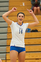 Volleyball vs Bridgewater St._10-6-15