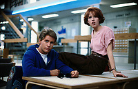 The Breakfast Club (1985) <br /> Emilio Estevez &amp; Molly Ringwald<br /> *Filmstill - Editorial Use Only*<br /> CAP/KFS<br /> Image supplied by Capital Pictures