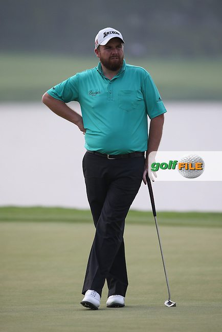 Shane Lowry (IRL) shot a 77 and will miss the weekend after Round Two of the 2014 Volvo China Open, Genzon Golf Club, Shenzhen, China. Picture:  David Lloyd / www.golffile.ie