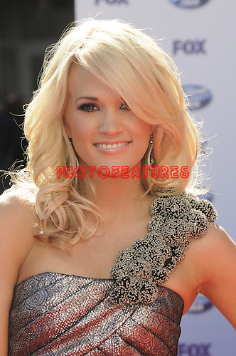 Carrie Underwood at the 2010 American Idol Finale at Nokia Theatre in Los Angeles, May 26th 2010...Photo by Chris Walter/Photofeatures