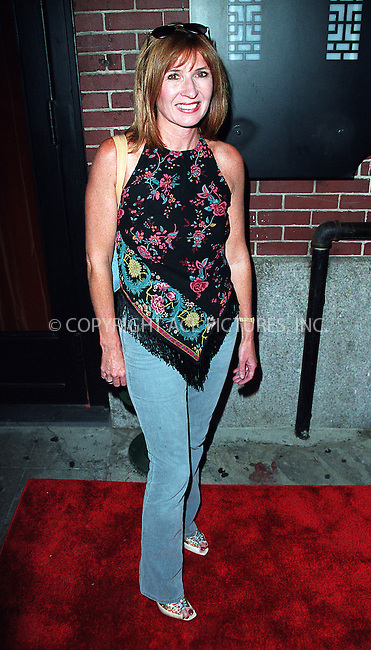 Designer Nicole Miller arriving at the party celebration of the first anniversary of his club Man Ray. New York, July 10, 2002. Please byline: Alecsey Boldeskul/NY Photo Press.   ..*PAY-PER-USE*      ....NY Photo Press:  ..phone (646) 267-6913;   ..e-mail: info@nyphotopress.com
