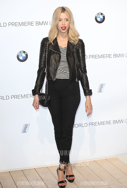Peaches Geldof arriving for the BMW i3 Launch Party, at Old Billingsgate, London. 29/07/2013 Picture by: Alexandra Glen / Featureflash