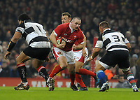 Wales Ken Owens takes on Barbarians Wiehahn Herbst<br /> <br /> Photographer Ian Cook/CameraSport<br /> <br /> 2019 Autumn Internationals - Wales v Barbarians - Saturday 30th November 2019 - Principality Stadium - Cardifff<br /> <br /> World Copyright © 2019 CameraSport. All rights reserved. 43 Linden Ave. Countesthorpe. Leicester. England. LE8 5PG - Tel: +44 (0) 116 277 4147 - admin@camerasport.com - www.camerasport.com