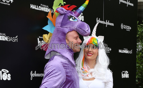 30 October 2016 - Hollywood, California - Ian Ziering,  Erin Ludwig. GOOD+ Foundation 1st Annual Halloween Bash held at Sunset Gower Studios. Photo Credit: PMA/AdMedia