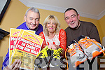Getting ready for a special 5K fundraising event  on November 17th in Mountcollins was Seamus Hickey, Mary Barry and Paddy Lenihan from Mountcollins who will travel to Africa this January with the Ray of Sunshine Foundation.