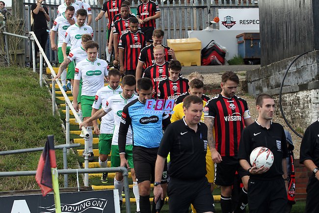 LEWES v GUERNSEY<br /> RYMAN SOUTH<br /> SATURDAY 1ST OCTOBER 2016<br /> DRIPPING PAN