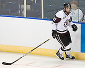 Jeremy Welsh (Union - 27) - The University of Minnesota-Duluth Bulldogs defeated the Union College Dutchmen 2-0 in their NCAA East Regional Semi-Final on Friday, March 25, 2011, at Webster Bank Arena at Harbor Yard in Bridgeport, Connecticut.