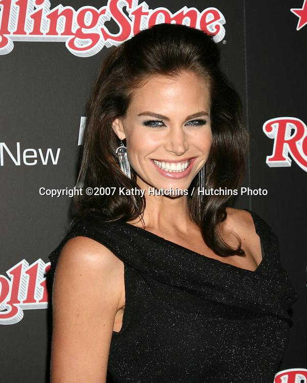 Brooke Burns.Rolling Stone Hot 2007 Party.Opera & Crimson.Los Angeles,   CA.October 4, 2007.©2007 Kathy Hutchins / Hutchins Photo...               .