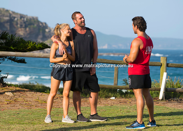 Home and Away filming at Palm Beach, NSW on 29 January, 2019