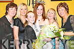Guest of honour: Rose McAuliffe, Louise Ahern, Lisa Geoghegan, all Athea, .with guest of honour Rose of Tralee Lisa Murtagh and Eilish Geoghegan and .Kathleen Ambrose, Athea at the Athea Community Council Parish Social on .Friday night..   Copyright Kerry's Eye 2008