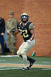 Wake Forest Demon Deacons running back Matt Colburn II (22) warms-up prior to the game against the Rice Owls at BB&T Field on September 29, 2018 in Winston-Salem, North Carolina. The Demon Deacons defeated the Owls 56-24. (Brian Westerholt/Sports On Film)