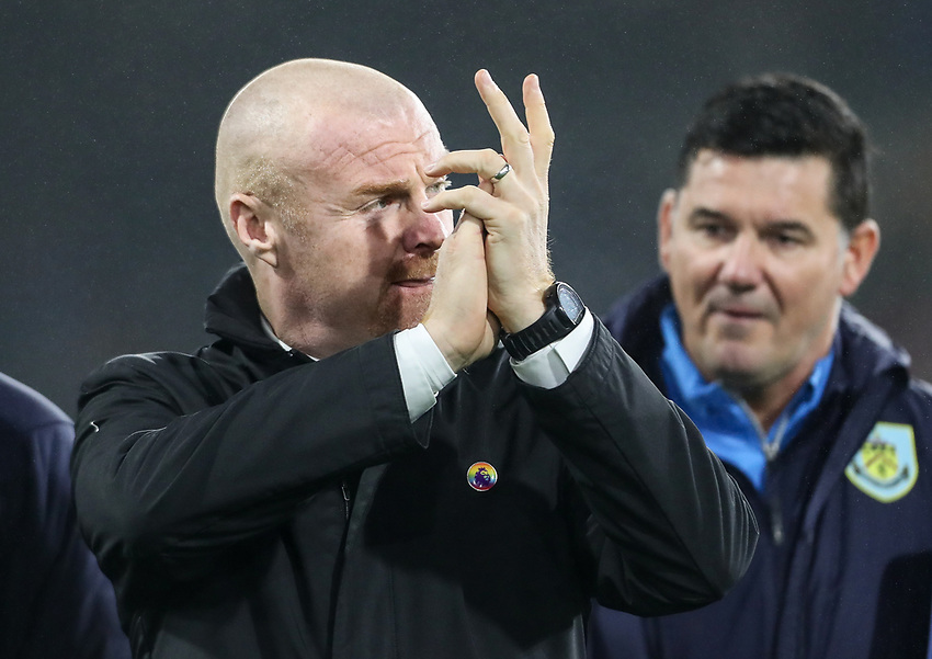 Burnley's Sean Dyche <br /> <br /> Photographer Andrew Kearns/CameraSport<br /> <br /> The Premier League - Burnley v Liverpool - Wednesday 5th December 2018 - Turf Moor - Burnley<br /> <br /> World Copyright © 2018 CameraSport. All rights reserved. 43 Linden Ave. Countesthorpe. Leicester. England. LE8 5PG - Tel: +44 (0) 116 277 4147 - admin@camerasport.com - www.camerasport.com