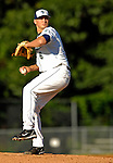 12 July 2007: Vermont Lake Monsters pitcher Cole Kimball in action against the Mahoning Valley Scrappers at Historic Centennial Field in Burlington, Vermont. The Scrappers defeated the Lake Monsters 11-2 in the first game of their NY Penn-League double-header...Mandatory Photo Credit: Ed Wolfstein Photo