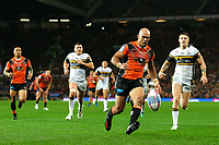 Picture by Alex Whitehead/SWpix.com - 07/10/2017 - Rugby League - Betfred Super League Grand Final - Castleford Tigers v Leeds Rhinos - Old Trafford, Manchester, England - Castleford's Jake Webster in action.