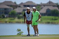 Juli Inkster (USA) looks over her putt on 2 during round 2 of  the Volunteers of America LPGA Texas Classic, at the Old American Golf Club in The Colony, Texas, USA. 5/6/2018.<br /> Picture: Golffile | Ken Murray<br /> <br /> <br /> All photo usage must carry mandatory copyright credit (&copy; Golffile | Ken Murray)