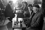Men having a lunch time drink Glasglow Pub Scotland  1979. 1970s.
