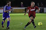 Brockenhurst FC VS Cowes Sports FC During Sydenhams Wessex League Premier Division Fixture. Photo by: Stephen Smith.<br /> <br /> Tuesday 28th September 2016 - Grigg Lane, Brockenhurst, Hampshire, United Kingdom.