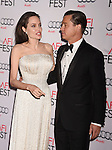 HOLLYWOOD, CA - NOVEMBER 05:  Writer-director-producer-actress Angelina Jolie Pitt (L) and actor-producer Brad Pitt arrive at the AFI FEST 2015 presented by Audi Opening Night Gala Premiere of Universal Pictures' 'By The Sea' at TCL Chinese 6 Theatres on November 5, 2015 in Hollywood, California.
