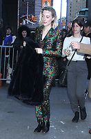 NEW YORK, NY - DECEMBER 18: Saoirse Ronan seen arriving at Good Morning America in New York City on December 18, 2018. Credit: RW/MediaPunch