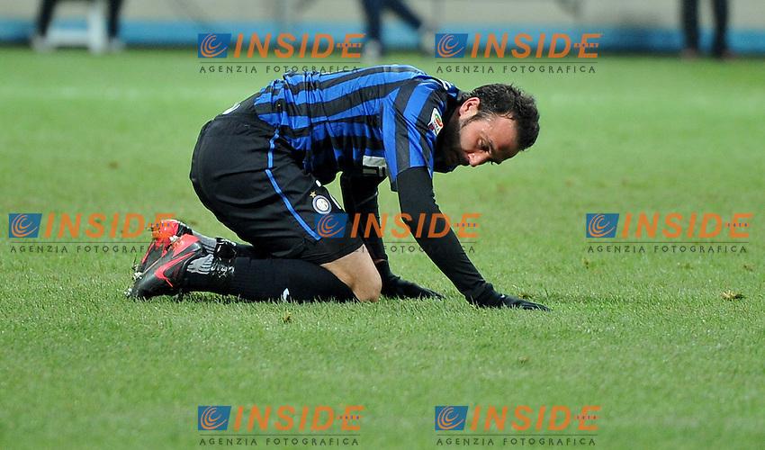"""Giampaolo PAZZINI (Inter).Milano 21/12/2011 Stadio """"Giuseppe Meazza"""".Serie A 2011/2012.Football Calcio Inter Vs Lecce.Foto Insidefoto Alessandro Sabattini."""