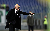 Calcio, Serie A: Roma, stadio Olimpico, 19 marzo, 2017<br /> Roma's coach Luciano Spalletti gestures to his players during the Italian Serie A football match between Roma and Sassuolo at Rome's Olympic stadium, March 19, 2017<br /> UPDATE IMAGES PRESS/Isabella Bonotto