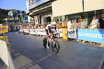 Wilco Kelderman (NED) Team Sunweb during Stage 1 of the La Vuelta 2018, an individual time trial of 8km running around Malaga city centre, Spain. 25th August 2018.<br /> Picture: Ann Clarke | Cyclefile<br /> <br /> <br /> All photos usage must carry mandatory copyright credit (© Cyclefile | Ann Clarke)