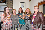 Claire Pierce from Devon UK enjoying her Hen Night at Bella Bia's on Friday Pictured l-r Laura Shanahan, Peggy Shanahan, Claire Pierce, Jennifer Shanahan, Aine Quinn.<br /> Marrying Declan Shanahan in Devon
