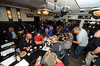 SKÛTSJESILEN: LEMMER: The British Pub, 29-07-2015, SKS kampioenschap 2015, wedstrijd afgelast, ©foto Martin de Jong