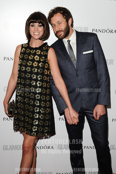 Dawn Porter and Chris O'Dowd arriving for the 013 Glamour Women of The Year Awards, Berkeley Square, London. 04/06/2013 Picture by: Steve Vas / Featureflash