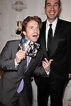 SETH GREEN, MATTHEW SENREICH. Red Carpet arrivals to the 37th Annual Annie Awards Gala at Royce Hall on the UCLA campus. Los Angeles, CA, USA. February 6, 2010.