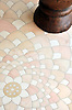 Ever Expanding Lotus in Ivory Cream, Rosa Portagallo, Jerusalem Gold.<br />