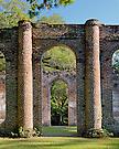 "Ruins of ""Old Sheldon""; Prince William's Parish Church; Yemassee, South Carolina"