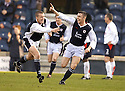 19/03/2005         Copyright Pic : James Stewart.File Name : jspa12_raith_v_falkirk.PAUL MCMULLAN (RIGHT) CELEBRATES AFTER SCORING FOR RAITH FROM A FREE KICK....Payments to :.James Stewart Photo Agency 19 Carronlea Drive, Falkirk. FK2 8DN      Vat Reg No. 607 6932 25.Office     : +44 (0)1324 570906     .Mobile   : +44 (0)7721 416997.Fax         : +44 (0)1324 570906.E-mail  :  jim@jspa.co.uk.If you require further information then contact Jim Stewart on any of the numbers above.........A