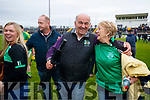 Ballyduff Supporters celebrate after the Senior County Hurling Final in Austin Stack Park on Sunday