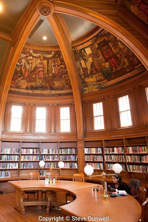 Cambridge Public Library, Cambridge, MA ( Ann Beha = renov architect)