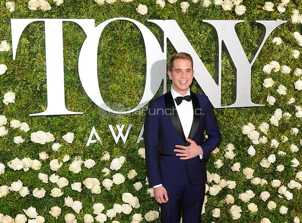 NEW YORK, NY - June 11: Ben Platt attends the 71st Annual Tony Awards at Radio City Music Hall on June 11, 2017 in New York City.@John Palmer / Media Punch