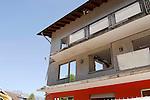Abbruch des Alten Volksblatt-Gebäudes an der Feldkircherstrasse in Schaan.©Paul Trummer, Mauren / FL.www.travel-lightart.com..