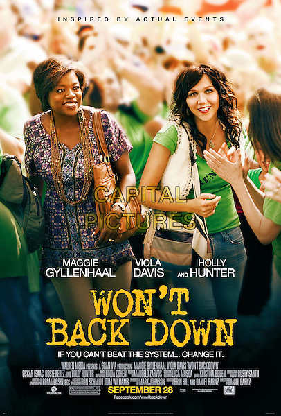 POSTER ART.in Won't Back Down (2012).*Filmstill - Editorial Use Only*.CAP/FB.Supplied by Capital Pictures.