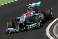 Motorsports: FIA Formula One World Championship 2012, Grand Prix of Hungary, <br /> #7 Michael Schumacher (GER, Mercedes AMG Petronas F1 Team),    *** Local Caption *** © pixathlon