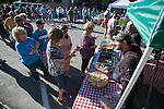 Guest wait to order at the Carson Nugget booth during the 20th Taste of Downtown, which is put on by the Advocates to End Domestic Violence, in Carson City, Nev., on Saturday June 15, 2013.<br /> (Photo by Kevin Clifford/Nevada Photo Source)