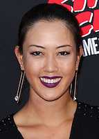 HOLLYWOOD, LOS ANGELES, CA, USA - AUGUST 19: Michelle Wie at the Los Angeles Premiere Of Dimension Films' 'Sin City: A Dame To Kill For' held at the TCL Chinese Theatre on August 19, 2014 in Hollywood, Los Angeles, California, United States. (Photo by Xavier Collin/Celebrity Monitor)